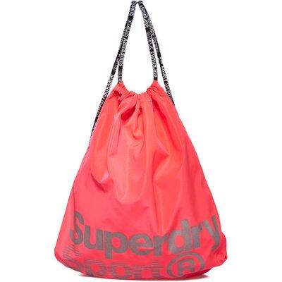 Superdry Drawstring Sport Bag, Pink