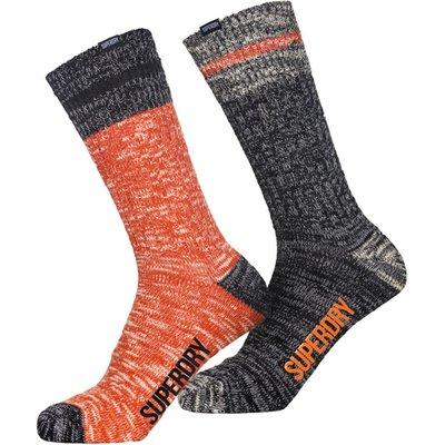 5054576897750 | Superdry Big Mountaineer Socks Double Pack
