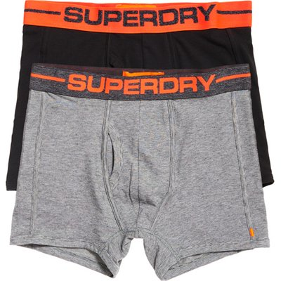 Superdry Sport Boxer Double Pack - 5057101044193