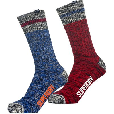 5054576897743 | Superdry Big Mountaineer Socks Double Pack