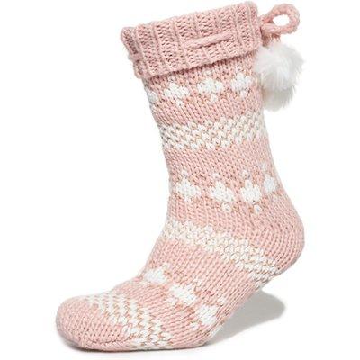Superdry Sparkle Fairisle Slipper Socks