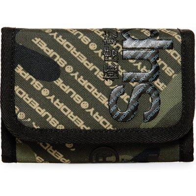 SUPERDRY Superdry Tarp Brieftasche mit Logo und Tarnmuster