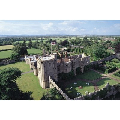 Afternoon Champagne Tea for Two at Thornbury Castle Hotel