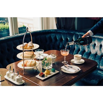 Champagne Afternoon Tea for Two at The Hyde at Roseate House Hotel – Special Offer