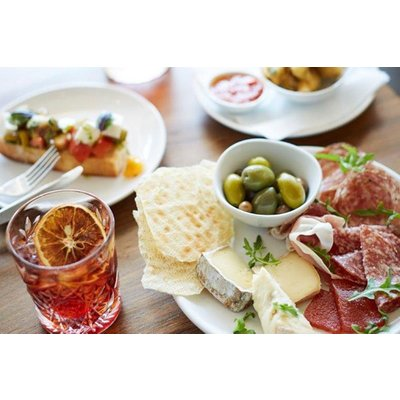 Cocktails and Sharing Plates for Two in Searcys Osteria at The Barbican Centre