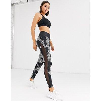 adidas – Belive This – Leggings mit hohem Bund-Schwarz