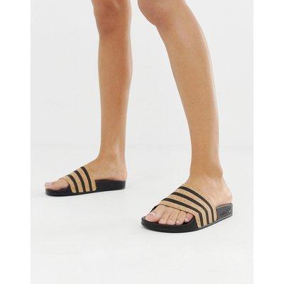 adidas Originals – adilette – Slider-Schwarz