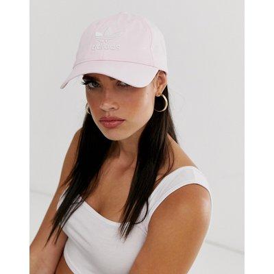 adidas Originals – Kappe in Rosa mit Trefoil-Logo