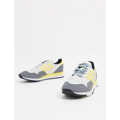 adidas Originals – Lowertree – Sneaker in Grau&Gelb