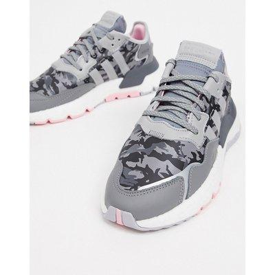 adidas Originals – Nite – Jogginghose in Grau