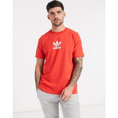 adidas Originals – Premium – T-Shirt in Lush-Rot | ADIDAS SALE
