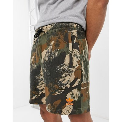 adidas Originals – Shorts mit Military-Muster-Grün | ADIDAS SALE