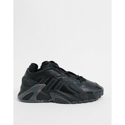 adidas Originals –Streetball – Sneakerin Tiefschwarz und Grau