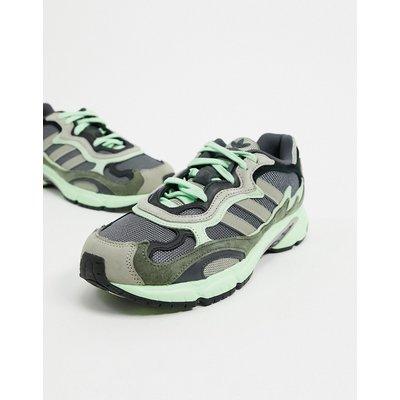 adidas Originals – Temper Run – Sneaker in Grau & Core Schwarz