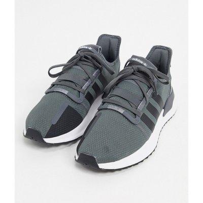 adidas Originals – U_Path Run – Graue Schuhe in Core/Schwarz