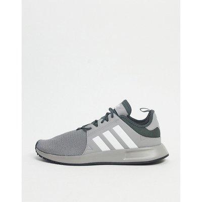 adidas Originals – X_PLR – Sneaker in Taubengrau und Weiß