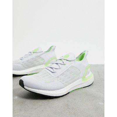 adidas – Ultraboost S.RDY – Sneaker in Grau-Weiß & Signalgrün