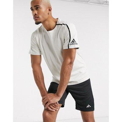 adidas – ZNE – Trainings-T-Shirt-Weiß