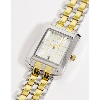 Bellfield – Eckige, mehrfarbige Herren-Armbanduhr