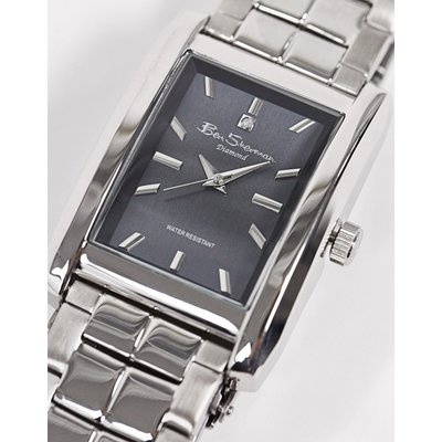 Ben Sherman – Schwarze Armbanduhr aus Edelstahl