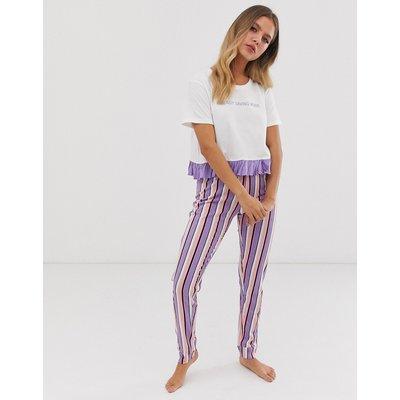 Brave Soul – Energy Saving – Hosen-Set-Violett
