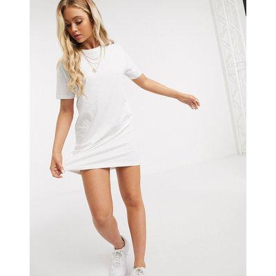 Brave Soul – Lennon – T-Shirt-Kleid-Weiß