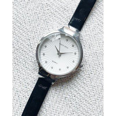 Brave Soul – Schwarze Armbanduhr mit silbernem Zifferblatt | BRAVE SOUL SALE