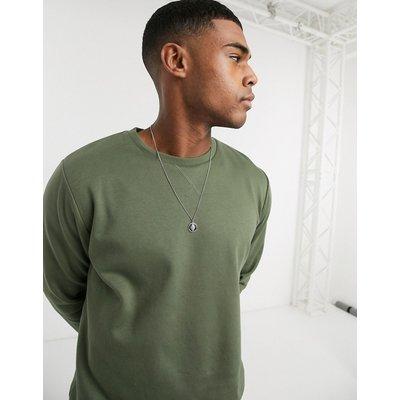 Brave Soul – Sweatshirt mit Rundhalsausschnitt-Grün
