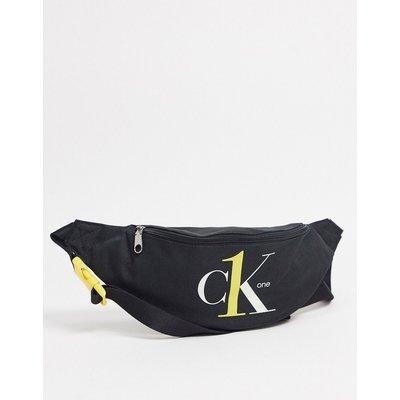 Calvin Klein – ck1 – Legere Gürteltasche-Schwarz
