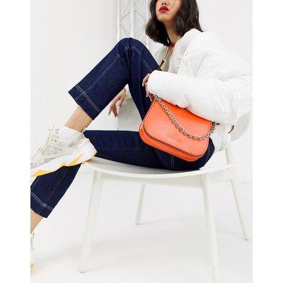 Calvin Klein – Dressed Up – Schultertasche in Orange