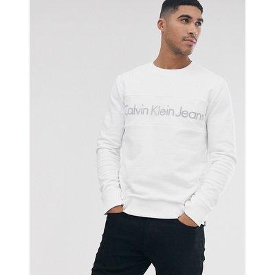 Calvin Klein – Husion – Sweatshirt-Weiß