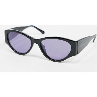 Calvin Klein Jeans – Sonnenbrille mit schwarzem Rahmen