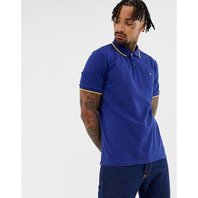 Calvin Klein – Paul – Schmal geschnittenes Polohemd-Blau