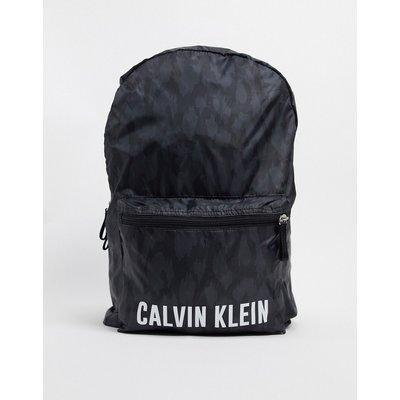 Calvin Klein performance – Backpack mit Logo, Schwarz bedruckt