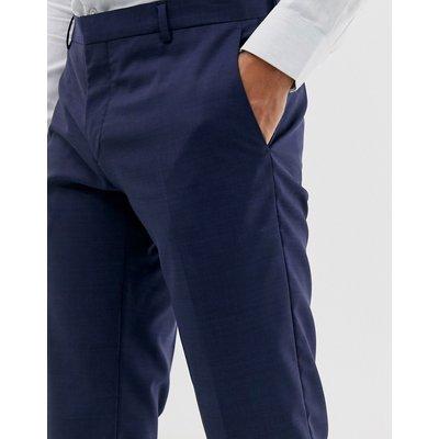 Calvin Klein – Schmale Anzughose-Blau