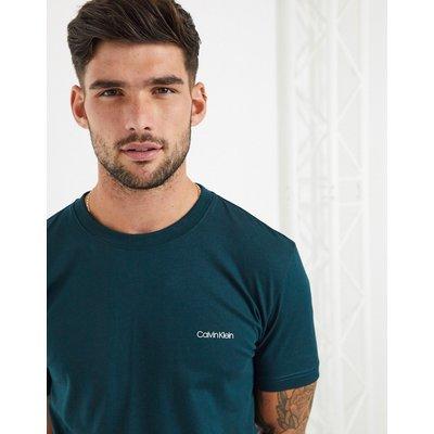 Calvin Klein – T-Shirt mit Logo-Schwarz