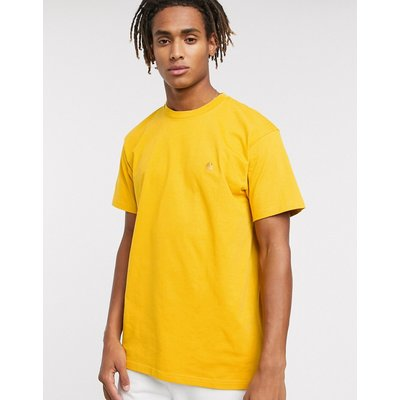 Carhartt WIP – Chase – T-Shirt-Gelb