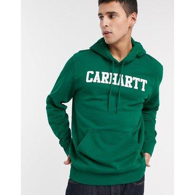 Carhartt WIP – College-Sweatshirt mit Kapuze-Schwarz