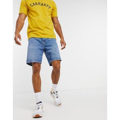 Carhartt WIP – Newel – Shorts in verblichenem Blau
