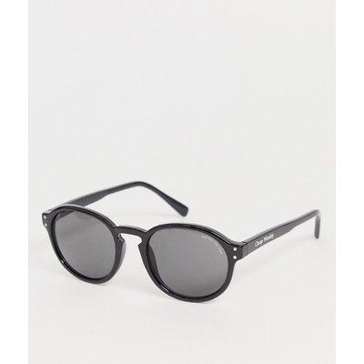 Cheap Monday – Cystic – Runde Sonnenbrille-Schwarz