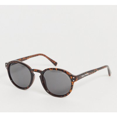 Cheap Monday – Cystic – Runde Sonnenbrille-Braun