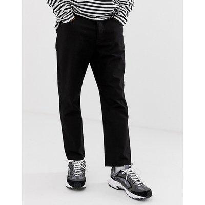 Cheap Monday – In Law – Schwarze Jeans mit 90er-Jahre-Passform