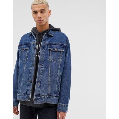 Cheap Monday – Jeansjacke im Stil der Neunziger-Jahre-Blau