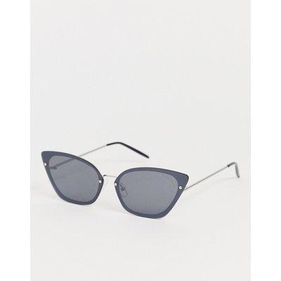 Cheap Monday – Scorn – Katzenaugensonnenbrille-Schwarz