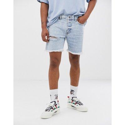 Cheap Monday – Sonic – Jeans-Shorts-Blau