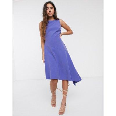 Closet asymmetric hem dress-Purple