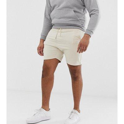 D-Struct – Jersey-Shorts mit Logo-Stone