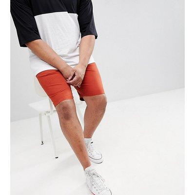 D-Struct PLUS – Shorts mit elastischem Taillenbund-Rot