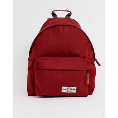 Eastpak – Gepolsterter Rucksack in Rot