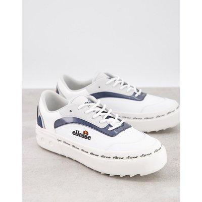 ellesse – Alzina – Sneaker in Weiß und Marine